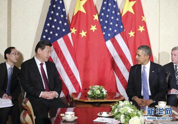 習近平国家主席は24日、オバマ米大統領とハーグで会談した。 習主席は「...  習近平主席がオバ
